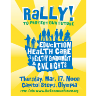 Attend the Rally To Protect Our Future