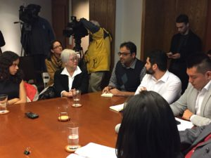 Local 4121 Executive Board Member Viral Shah participates in a Immigration Roundtable with Congresswoman Pramila Jayapal