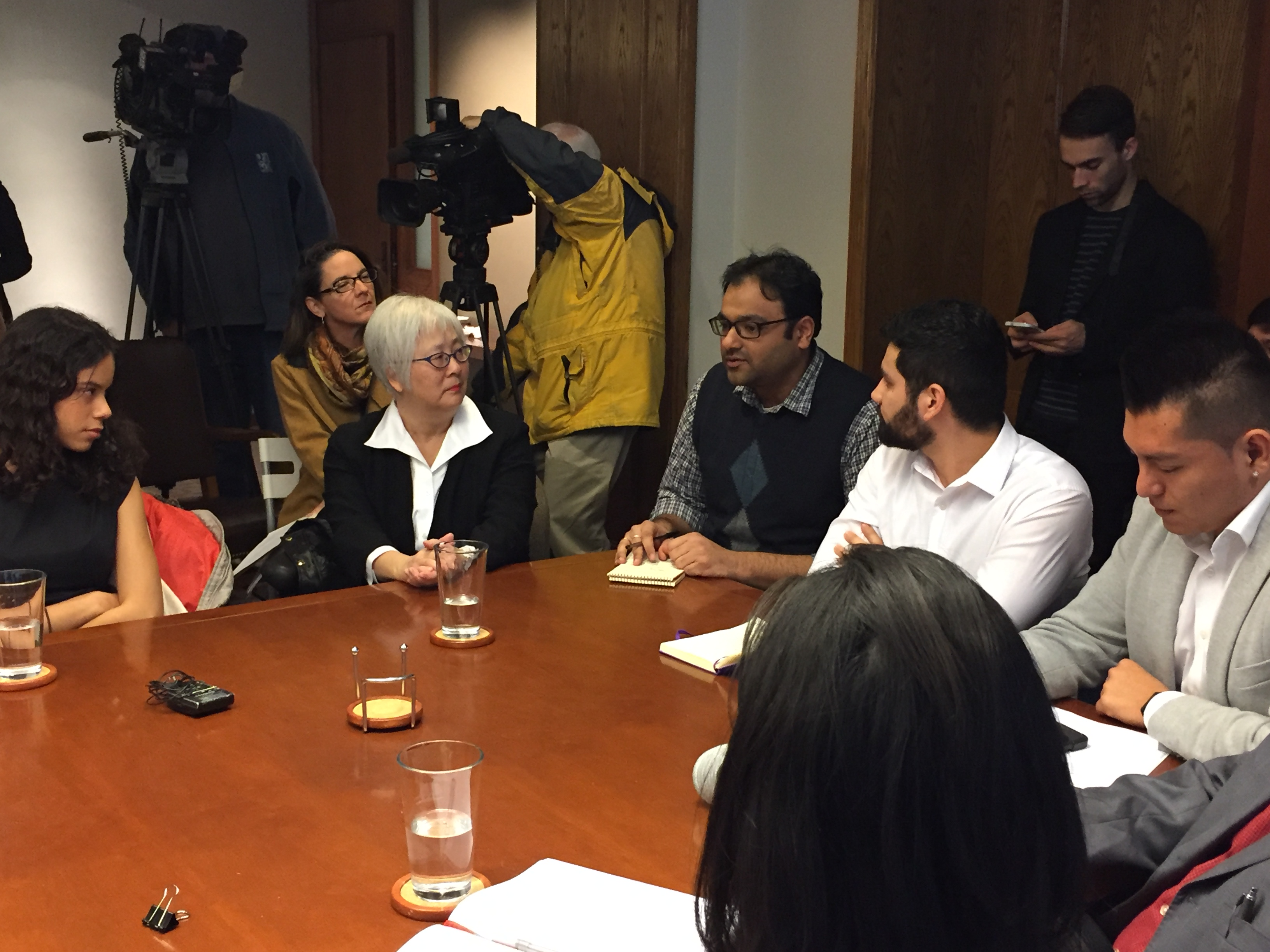 UAW 4121 Board Member Viral Shah participates in Immigration Roundtable with Congresswoman Jayapal