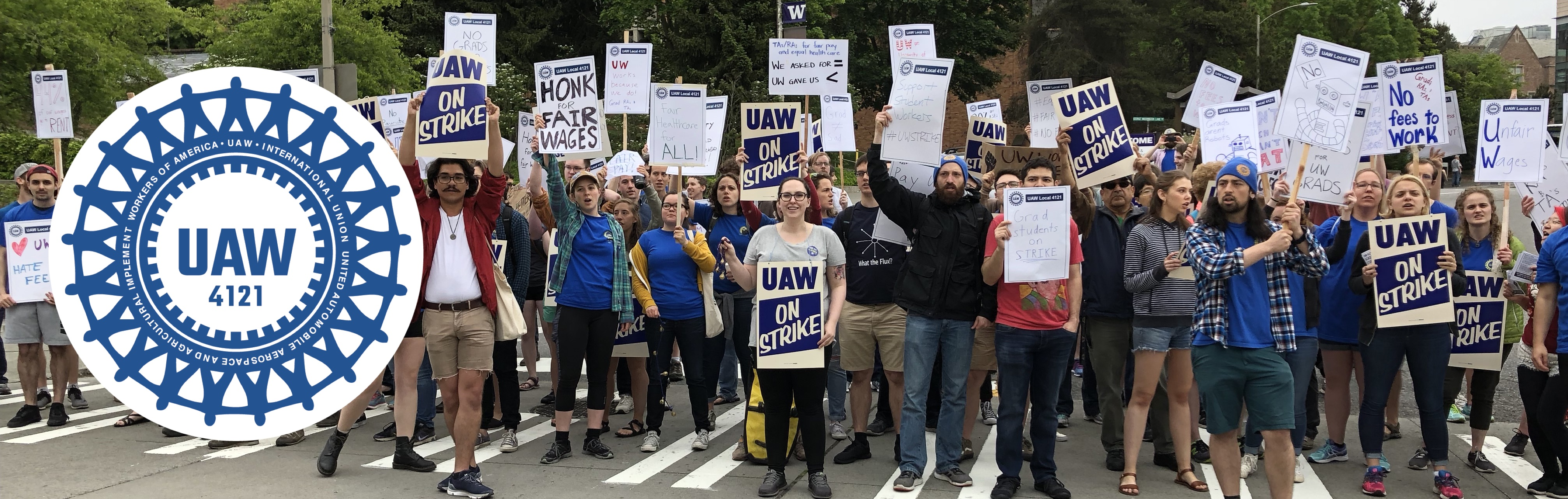 UAW 4121 - UW Works Because We Do