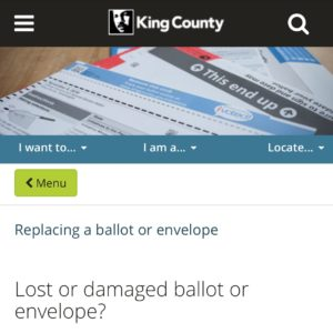 Lost your ballot? Get your replacement ballot from @kcelections at the link in our bio! Be sure to submit by November 5th at 8pm. For a full list of our endorsements, check out our website.  #GOTV #SeattleElections