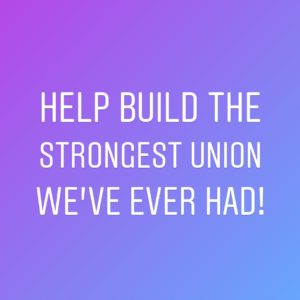 As we prepare for next year's contract campaigns, we know we'll only be able to make wins if more Academic Student Employees and Postdocs are members than ever before. ✊ You can help by talking to others in your department about signing up! Email uaw4121@uaw4121.org to get connected with an organizer & find out who in your department hasn't had a chance to join yet. ✊ If you're not already signed up, take a couple minutes now to fill out the form at the link in our bio! ✊ #UWWorksBecauseWeDo #UnionStrong #WorkerPower